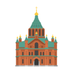 Uspenski Cathedral Illustration