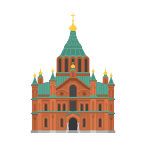 Uspenski Cathedral Free PNG Illustration