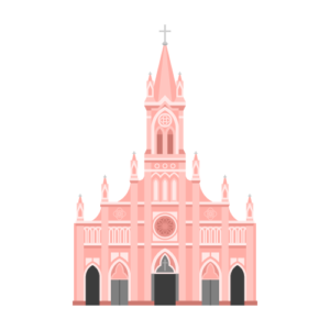 Da Nang Cathedral Free PNG Illustration