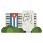 Plaza de la Revolución Illustration