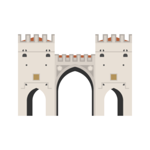 Karlstor gate Free PNG Illustration