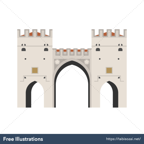 Karlstor gate Free Illustration