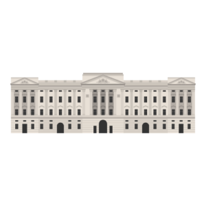 Buckingham Palace Free PNG Illustration