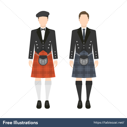Kilt Free Illustration