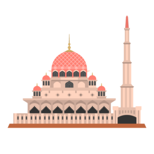 Putra Mosque Free PNG Illustration