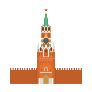 Moscow Kremlin Free PNG Illustration