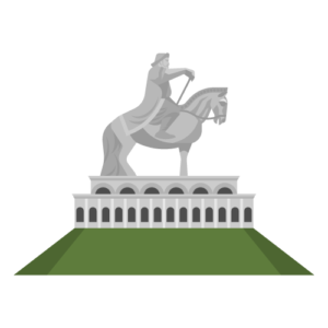 Genghis Khan Statue Complex Free PNG Illustration