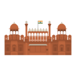 Red Fort Illustration