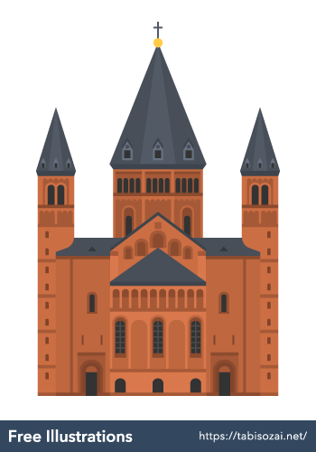 Mainzer Dom Free Illustration