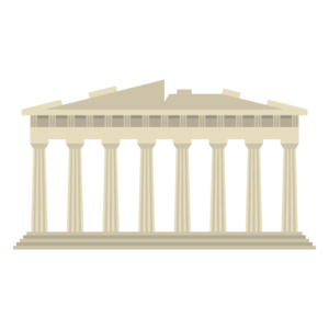 Parthenon Free PNG Illustration