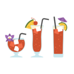 Singapore Sling Illustration
