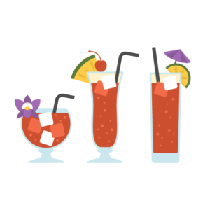 Singapore Sling Free PNG Illustration