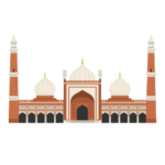 Jama Masjid Illustration
