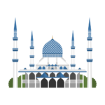 Masjid Sultan Salahuddin Abdul Aziz Illustration