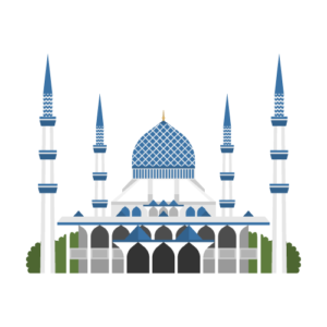 Masjid Sultan Salahuddin Abdul Aziz Free PNG Illustration