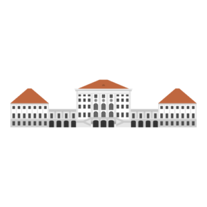 Nymphenburg Palace Free PNG Illustration