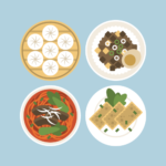 Taiwanese cuisine Illustration